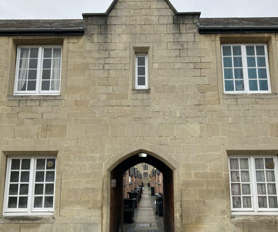 Swindon Heritage Action Zone alleyway